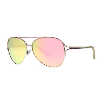 Anarchy ByeFelicia Pink Sunglasses